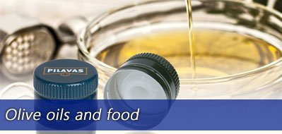 Olive oils and food